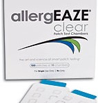 allergEAZE® Clear Skin Patch Test Chambers